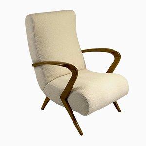 Mid-Century Freeform Lounge Chairs, Set of 2