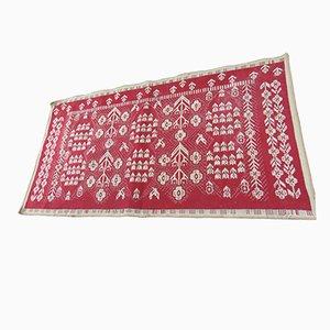 Art Deco Polish Woolen Kilim Carpet