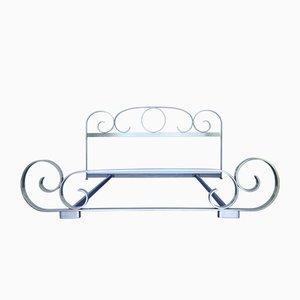 Mid-Century Bett aus Messing