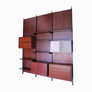 Rosewood Wall Unit, 1950s