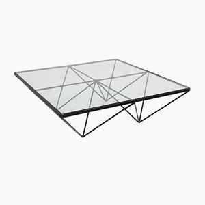 Vintage Italian Geometric Design Coffee Table, 1970s