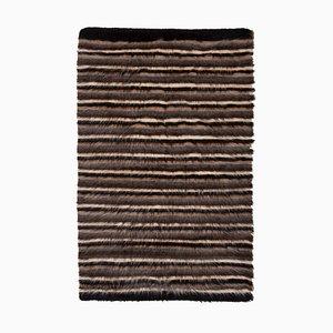Vintage Turkish Striped Blanket, 1970s