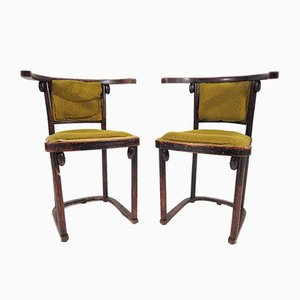 Sofa and Armchairs Set from Thonet, 1930s, Set of 3