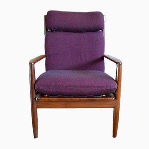 Skandinavische Sessel von Grete Jalk, 1960er, 2er Set
