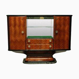 Large Bar Cabinet by Osvaldo Borsani for Atelier Borsani Varedo, 1940s