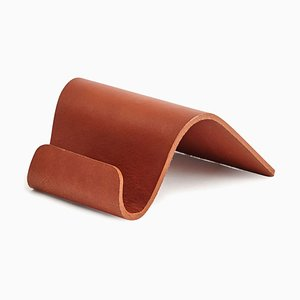 Brown Baku Card Holder by Kerem Aris for Uniqka