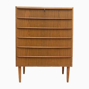 Mid-Century Danish Teak Chest of Drawers, 1950s