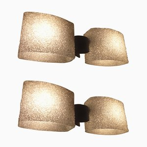 Mid-Century Wall Lights in the Style of Kalmar, Germany, 1970s, Set of 2