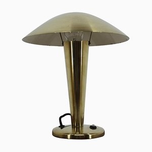 Bauhaus Brass Table Lamp, 1930s