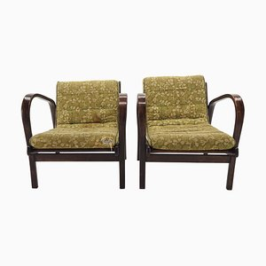 Armchairs by Karel Kozelka & Antonin Kropacek, 1950s, Set of 2