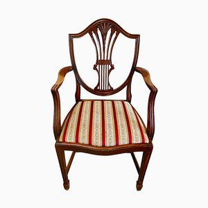 Antique Hepplewhite Armchair