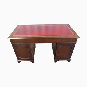 Antique Victorian Mahogany Wood Desk