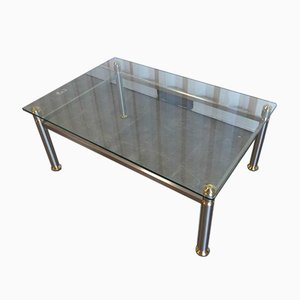 Art Deco Glass Coffee Table
