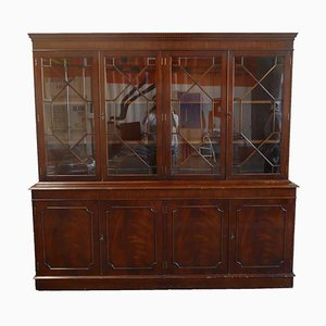 Art Deco Flat Front Bookcase