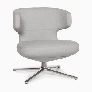 Ice Blue Fabric Petit Repos Armchair by Antonio Citterio for Vitra