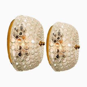 Bubble Flush Mount or Wall Sconce by Helena Tynell for Limburg Glashütte, 1960s