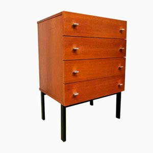 Vintage Teak Chest of Drawers by Pierre Guariche for Meurop, 1960s