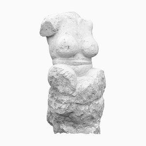 Derose - Baigneuse sur un rocher - Original Sculpture 2020