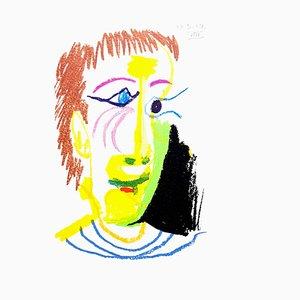 Le Goût de Bonheur: one plate (Joy Portrait) 1970