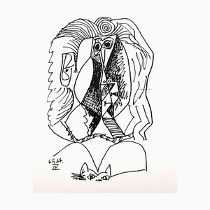Le Goût de Bonheur: Ein Teller (Hochformat) 1970
