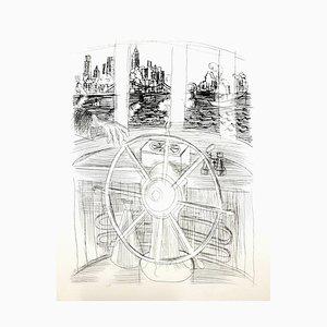 Raoul Dufy - Auf dem Boot! - Original Radierung 1940