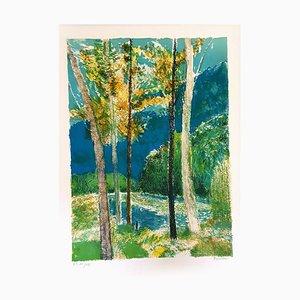Guy Bardone - Original Handsignierte Lithographie - Ecole de Paris Circa 1960