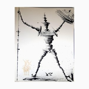 Salvador Dali - Don Quichotte - Original Lithograph 1957