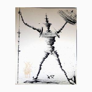 Salvador Dali - Don Quichotte - Original Lithographie 1957