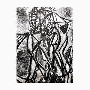 Litografia 1946 di Jean-Michel Atlan - Kafka