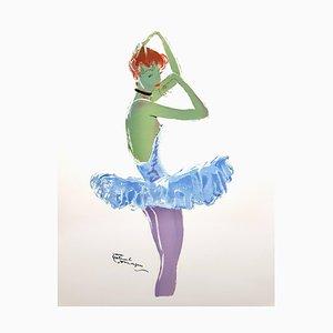 Domergue - The Dancer - Original Lithographie 1956