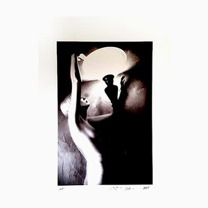 Ralph Gibson - Nude Woman Portrait - Signed Photograph 2013