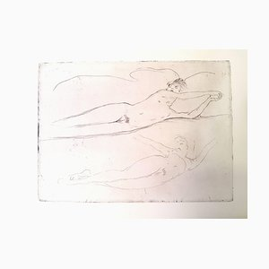 Jean Gabriel Domergue - Dream - Original Etching 1924