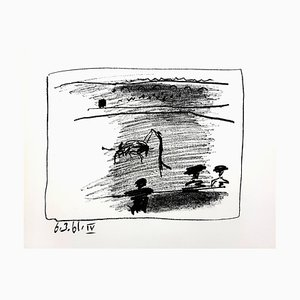 Pablo Picasso - Les Banderillas - Original Lithograph 1961