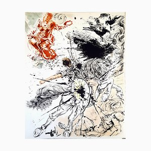 Salvador Dali - Don Quichotte - Original Lithograph 1957