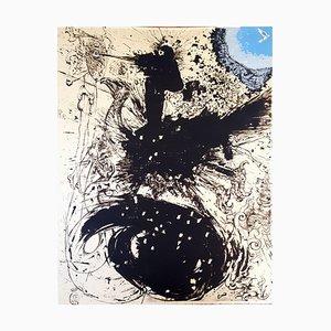 Lithographie Salvador Dali - Don Quichotte Original 1957