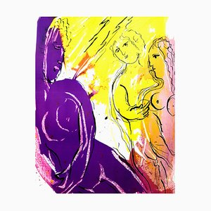 Marc Chagall - The Bible - Original Lithographie von 1956