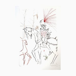 Salvador Dali - The Bloody Ford - Original Handsigned Etching 1975