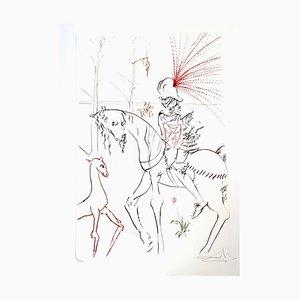 Salvador Dali - The Bloody Ford - Original Handsignierte Radierung 1975