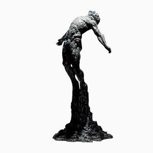 Ian Edwards - The Calling - Originales signiertes Sculpure Bronze 2017