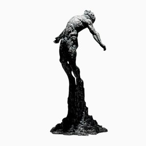 Sculpture Ian Edwards The Calling - Original Signed Bronze Sculpure 2017