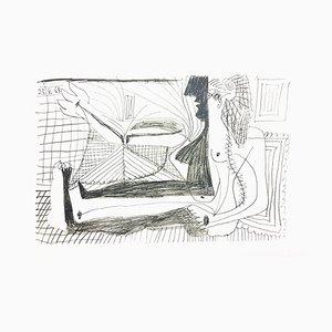 Le Goût de Bonheur: one plate (Woman) 1970