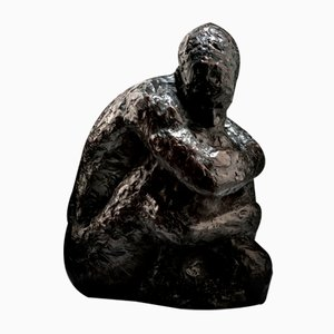 Ian Edwards - The Hour of Darkness - Original Signed Bronze Sculpure 2017