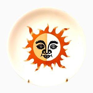 Jean Picart Le Doux - Sunshine - Faïence Salins Original 1960s