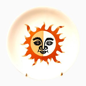 Jean Picart Le Doux - Sunshine - Mobiletto originale in porcellana Salins, anni '60