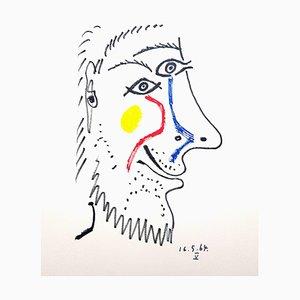 Le Goût de Bonheur: one plate (portrait) 1970