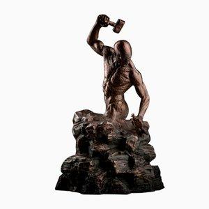 Ian Edwards - Creation of Self - Original Signed Bronze Sculpure 2017