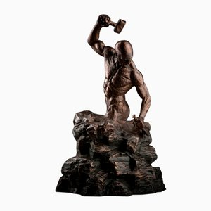 Sculpture Ian Edwards - Self-Original Signed Bronze Sculpure 2017