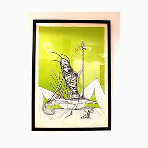 Salvador Dali - Les Songes Drolatiques - Handsigned Lithograph 1973