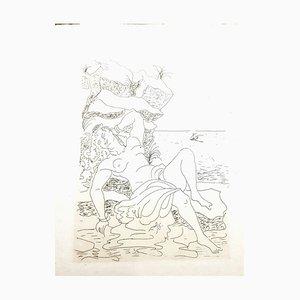Acquaforte originale del 1938 di André Derain - Heroides di Ovidio