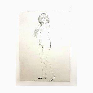 Jean Gabriel Domergue - Nonchalance - Original Etching 1924